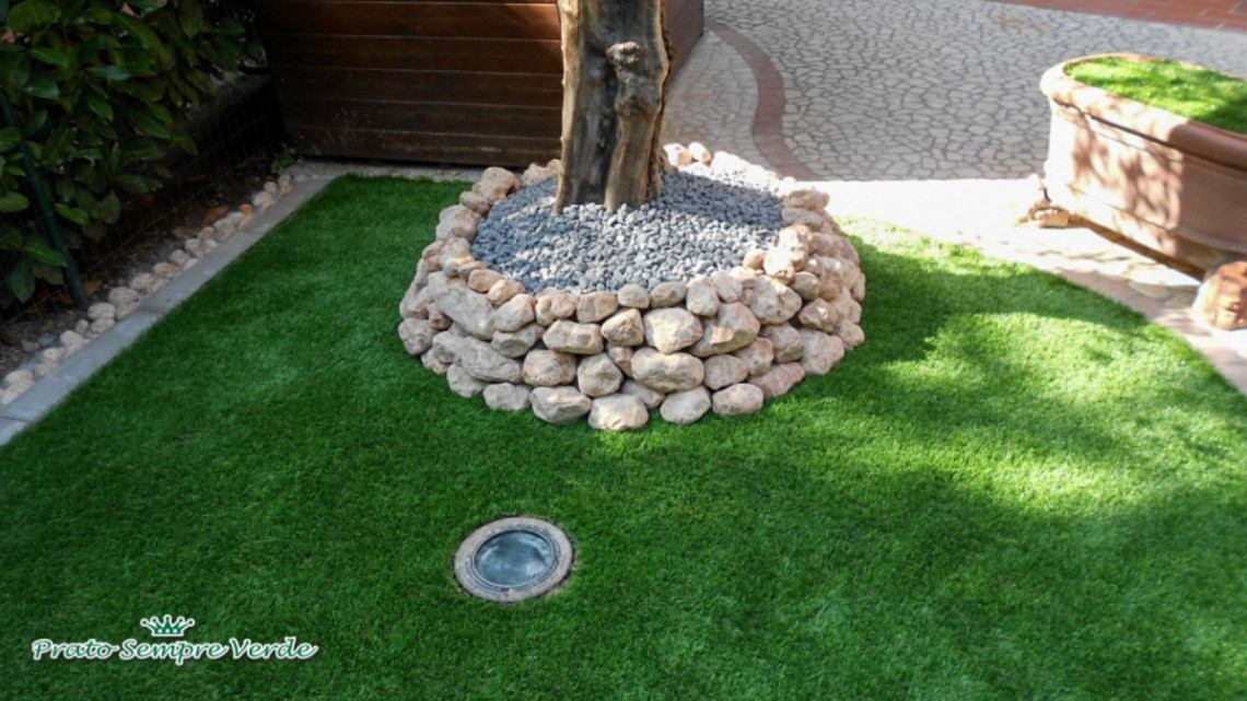 Aiuole giardino fai da te idea di casa for Decorazione giardino fai da te