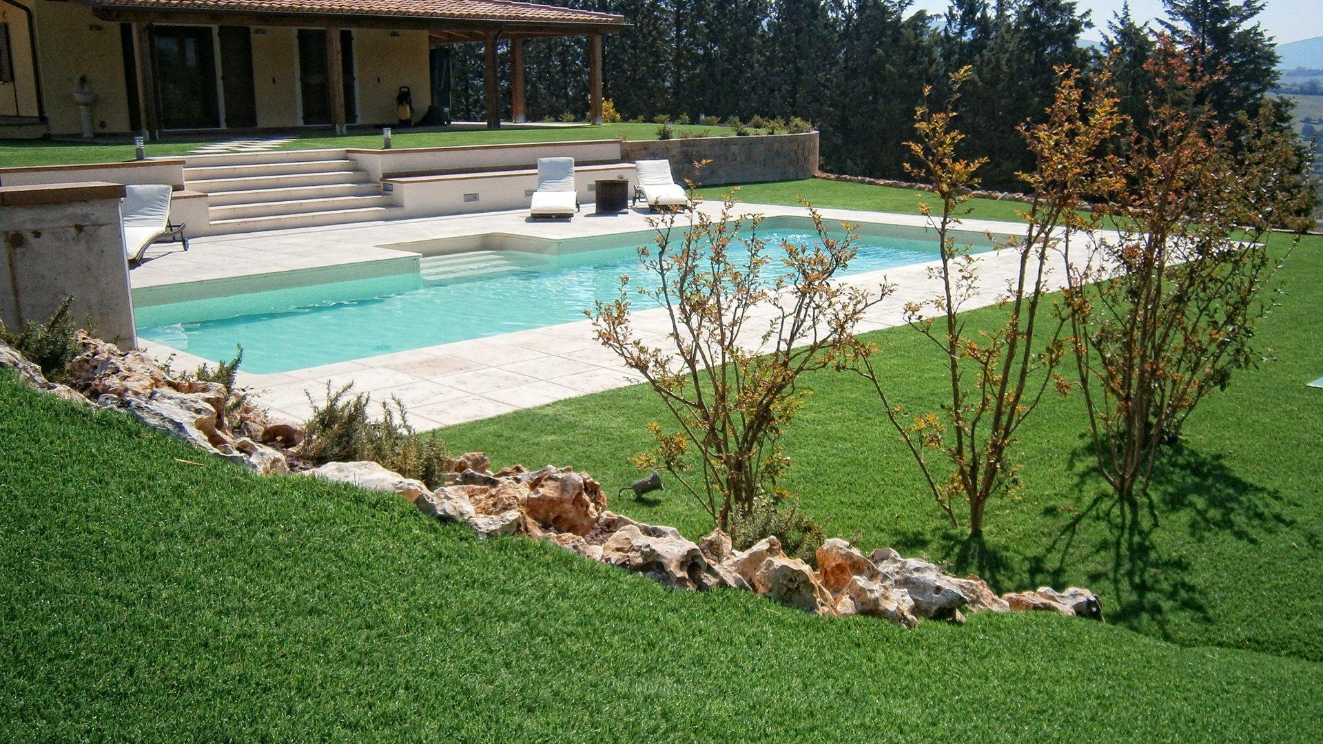 Quanto costa veramente un giardino in erba sintetica - Quando seminare erba giardino ...